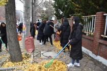 성서산업단지 낙엽수거 자원봉…