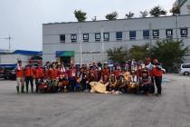재난재해 피해복구 자원봉사활…